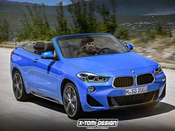 BMW выпустит конкурента кроссоверу-кабриолету Range Rover Evoque